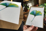 Postcard 'Ginkgo'_