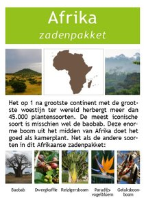 Africa seed package